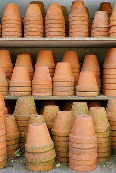 Tuintrends 2014 - LA DOLCE VITA - Italiaanse tuin - Rood, Groen, Wit & Bruin, Toscaanse sfeer. Italian/Italia Garden Outdoor <3 Fonteyn