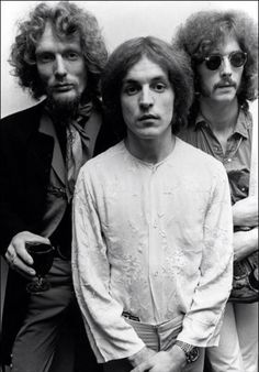Ginger Baker, Jack Bruce, and Eric Clapton: Cream, 1967
