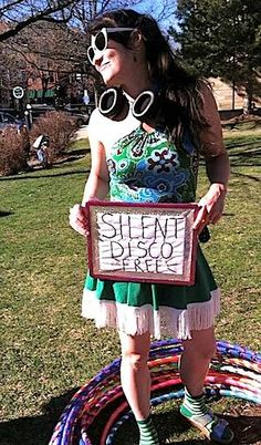 Getting Down and Hooping with Silent Disco Boulder | hooping.org