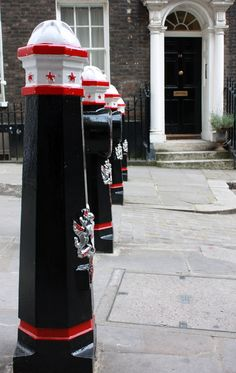 City of London bollards