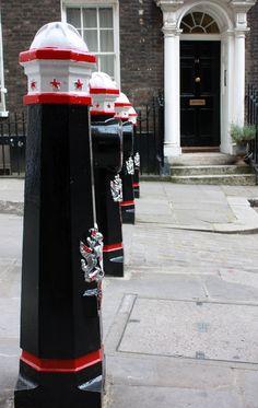 City of London bollards