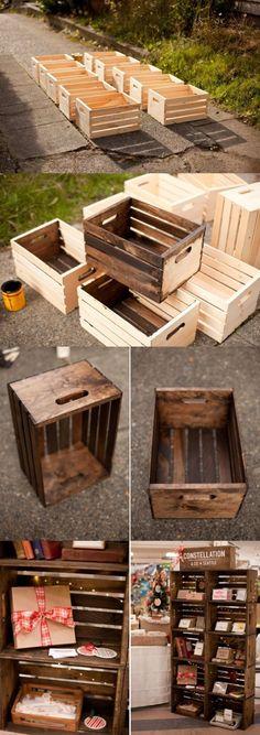 Faites le plein d'idées avec ces 56 réalisations à base de bois de récup...
