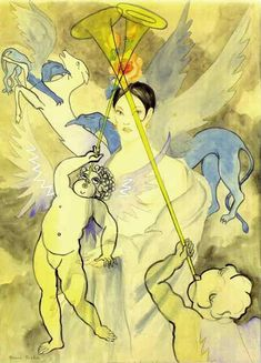 The woman of love, 1927, Francis Picabia Size: 75x105 cm Medium: pencil, watercolor, paper