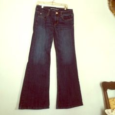 LONG AE Hipster Jeans Long length, hipster jeans. Dark wash American Eagle Outfitters Jeans