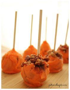 Pumpkin Spice Cake Pops