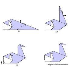 swan origami - Google Search