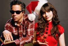 She & Him.  Can't wait for their Xmas 2011 Album!!