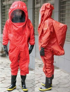 chemical protective clothing- slightly tighter fit