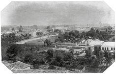 Bairro do Chá, 1887. (Militão Augusto de Azevedo)