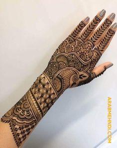 50 Back Hand Mehndi Design (Henna Design) - October 2019 Latest Bridal Mehndi Designs, Indian Henna Designs, Mehndi Designs Book, Back Hand Mehndi Designs, Legs Mehndi Design, Mehndi Designs For Girls, Modern Mehndi Designs, Dulhan Mehndi Designs, Mehndi Design Photos