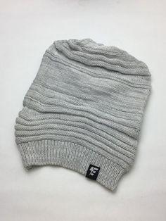 557aaabe84d Grey Ribbed Super Slouch Beanie. I looooove this omg so comfy I want it.