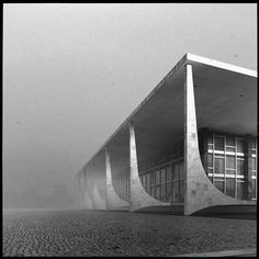 Supreme Court in Brasilia designed by Oscar Niemeyer in 1958.