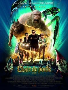 Affiche #Cinéma du #Film Chair de Poule avec Jack Black