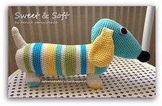 La Magia del Crochet: Dachshund o Perro Salchicha
