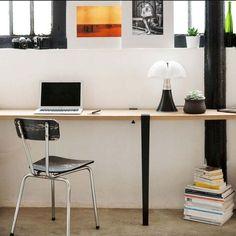 Bureau Insta La Vie Moderne Desk, Furniture, Home Decor, Modern Living, Desktop, Decoration Home, Room Decor, Table Desk, Home Furnishings