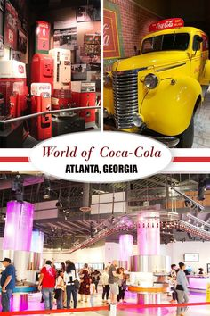 World of Coca-Cola Museum in Atlanta, Georgia  #atlanta #georgia #cocacola #museum  #kids #kidsactivities #familytravel #familyvacation