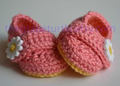 Baby Infant Girl Shoes Crochet Baby Shoes Baby by TheGrapeTurtle, $24.00