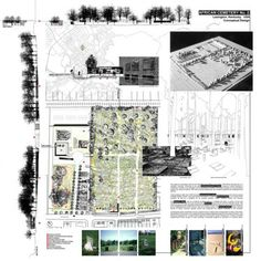 Louise Burns Architectural Presentation Board Examples Interior Design