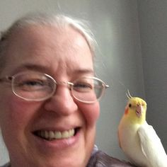 And on Monday November 23-2015 and this a photo of me and my bird together