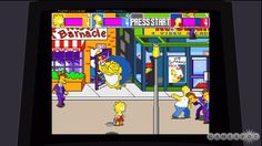 The Simpsons Arcade game... they need to bring this back!