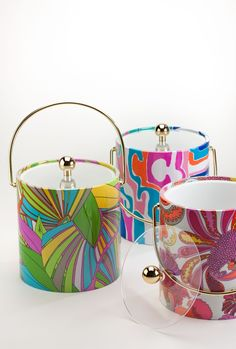 Trina Turk :  mirage ice buckets