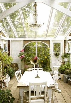 I didn't even know garden rooms existed until now, but if I had one I'm pretty sure I'd want mine to look like this.