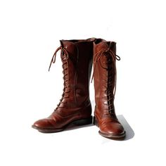 RESERVED FOR BETH size: 8.5 Cole Haan Mahogany Brown Leather Boots on Etsy, $80.00