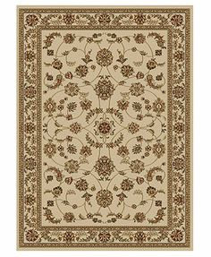 Kenneth Mink Area Rug Set, Florence Collection 4 pc set Isfahan White - Macy's