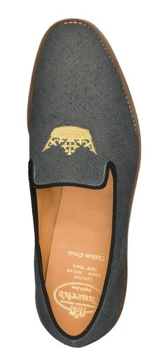 Church's HIrst Loafer in gray for £280 availale in the Burlington Arcade store. http://www.burlington-arcade.co.uk/shops/churchs/