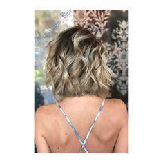 Rooted Balayage, Balayage, hair painting, shadow root, lob, blonde bob