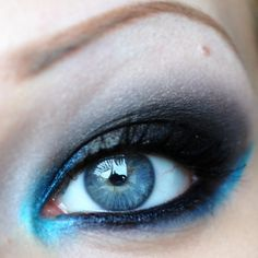 for blue eyes- bright blues