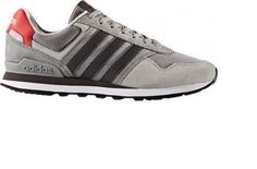 Men's Adidas NEO 10K Color GREY  Athletic Sneaker Casual Shoes NEW  BB9783 #Adidas #AthleticSneakers