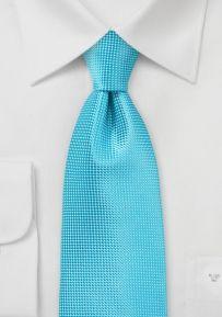 Solid Color Tie in Bright BlueBird Color