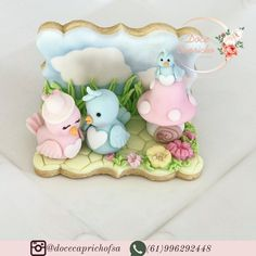 Bird Cookies, Easter Cookies, Sugar Cookies, Biscuits, Cake Pop Tutorial, Cupcakes Decorados, Cookie Cake Birthday, Fondant Animals, Cupcake Art
