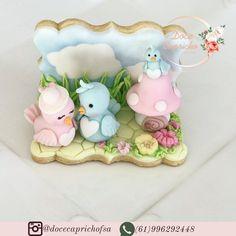 Bird Cookies, Easter Cookies, Biscuits, Cake Pop Tutorial, Praline Recipe, Cupcakes Decorados, Cookie Cake Birthday, Fondant Animals, Cupcake Art