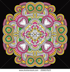 Green Gray White Kaleidoscope Stock Photos, Images, & Pictures ...