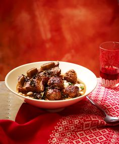 Jewish beef short rib and meatball soup (dafina) Beans And Barley, Keto Recipes, Cooking Recipes, How To Cook Meatballs, Meatball Soup, Beef Short Ribs, Jewish Recipes, Middle Eastern Recipes, Lunch