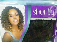 "Premium Too Shorty 100% HH & Premium Blend Hair Jazz Deep Weave -  3Pcs of 9"""