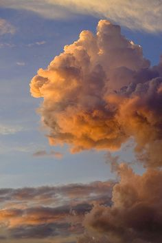 Orange Clouds by Bernie Led, via Flickr