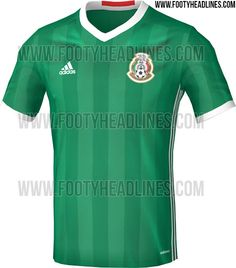 a643eeefe4 Mexico 2016 Copa America Home Kit Leaked - Footy Headlines