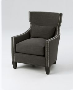 The Joey Chair from the Gold Coast Collection. Available in fabric, leather, or COM.