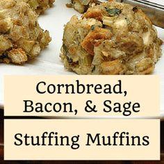 cornbread-bacon-sage-stuffing-muffins-