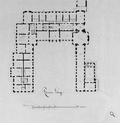 Plans du Château first floor