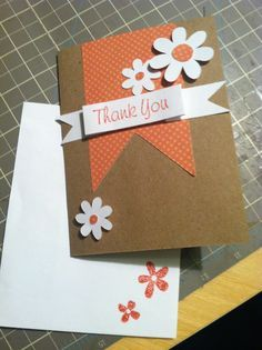 diy thank you cards - Google Search