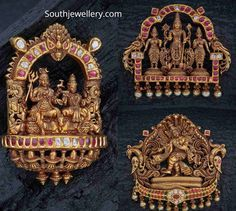 Gold Pendant, Pendant Jewelry, Gold Jewelry, India Jewelry, Temple Jewellery, Indian Jewellery Design, Jewelry Design, Fashion Jewelry, Gold Fashion