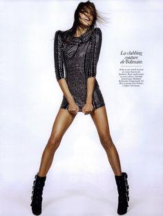 Vogue Paris - ADN de la mode: Lignes Force by Inez van Lamsweerde and Vinoodh Matadin