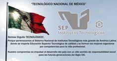 Somos orgullo TECNOLÓGICO!