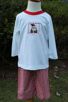 Now available on our store: Vintage Santa Smo... Check it out here! http://www.thebubblebee.com/products/vintage-santa-smocked-boys-t-shirt-pant-set?utm_campaign=social_autopilot&utm_source=pin&utm_medium=pin