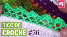 Bico de crochê fácil e completo para iniciante #36