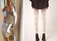 Cómo combinar leggins claros